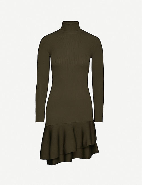 REISS Finn stretch-jersey mini dress