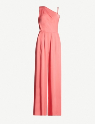 REISS Polly crepe jumpsuit