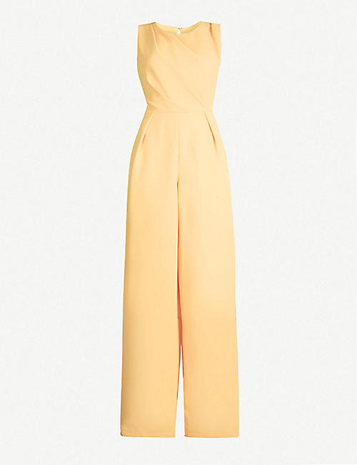 7bb0cd85b34705 REISS Chey cut-out detail cotton-poplin jumpsuit