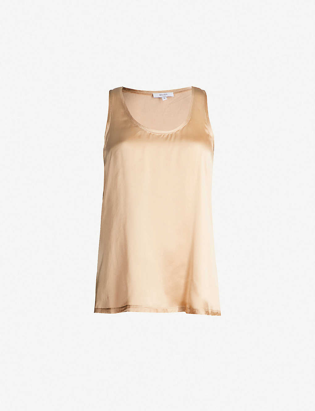 e9d47f48d82f5 REISS - Remey silk-satin and jersey vest top