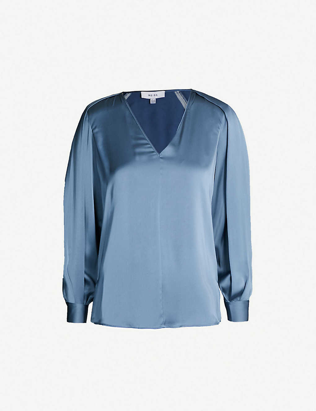 8e2d0066 REISS - Cora satin blouse   Selfridges.com