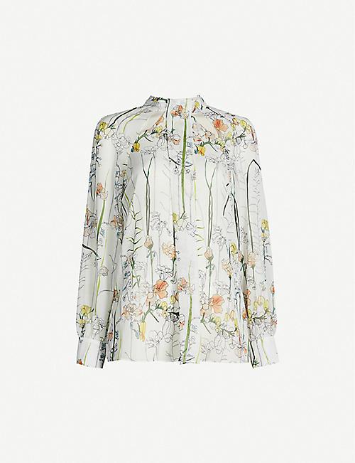 01fdbbd9df99ac REISS - Tops - Clothing - Womens - Selfridges | Shop Online