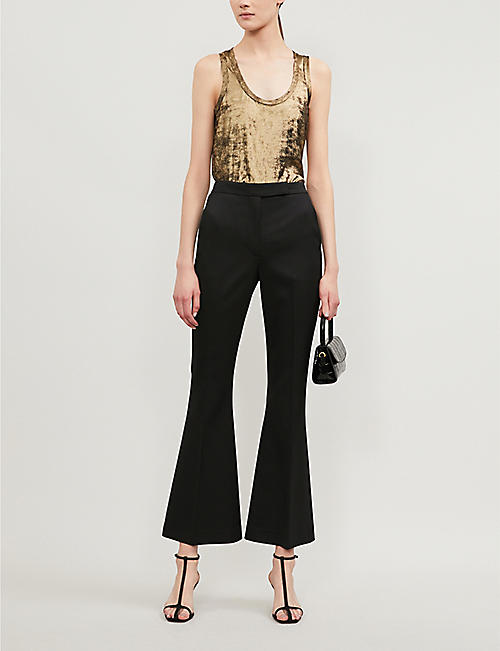 REISS Demi metallic vest