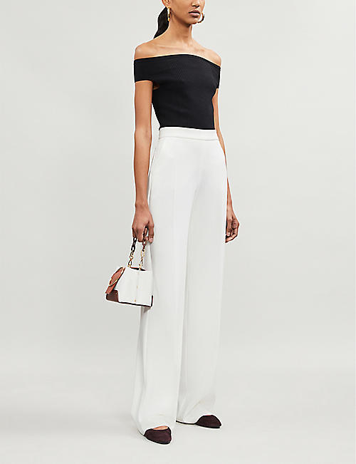 REISS Zena off-the-shoulder top