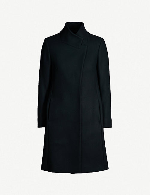 REISS Mabel single-breasted wool-blend coat cd0b41775