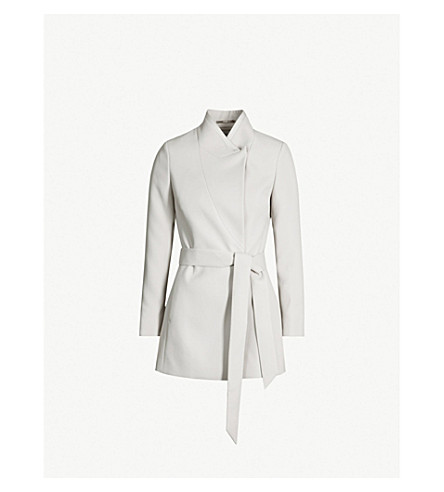 Clarence Belted Satin Faced Jacket by Reiss