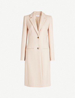 REISS Pembury wool-blend coat