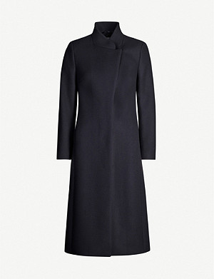 REISS Mason wool-blend coat