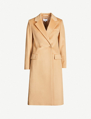 REISS Sabel double-breasted wool coat