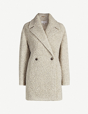 REISS Scarlet teddy coat