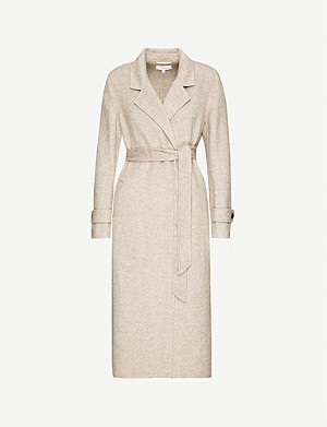 REISS Lily wool-blend coat