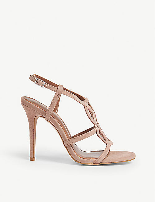 8ca1318bb9e REISS Pina suede heeled sandals