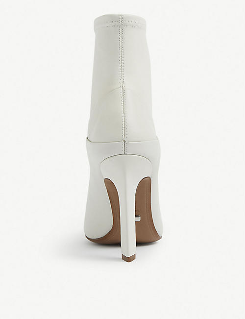 REISS Carrie heeled leather ankle boots