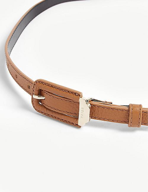 d901e41ed REISS Paloma skinny leather belt · Quick Shop