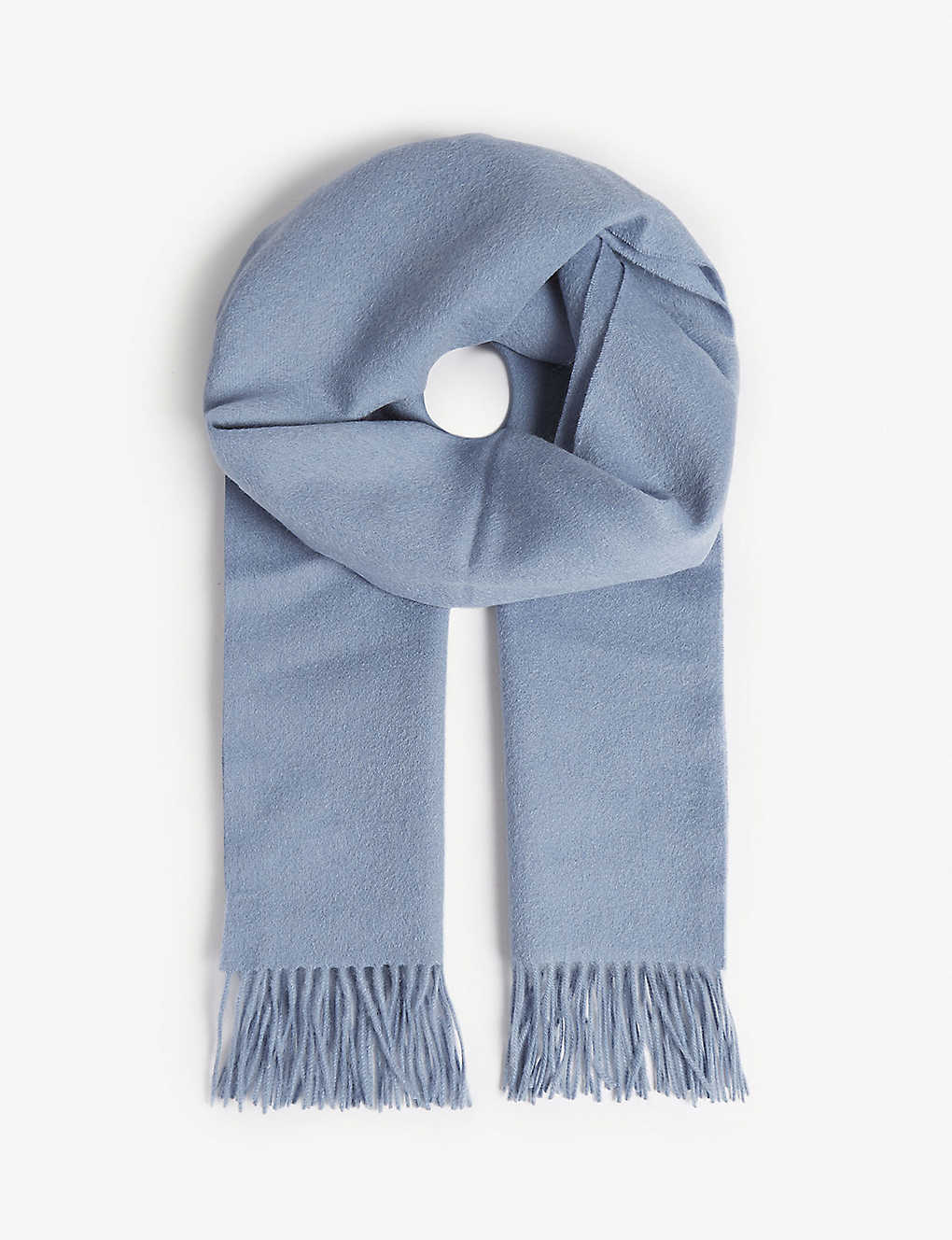 31af1d15b REISS - Saskia lambswool and cashmere-blend scarf | Selfridges.com