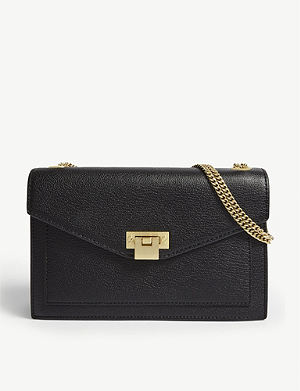 3f6514df46b3 REISS - Maltby mini grained leather cross-body bag