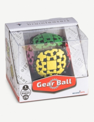 RED 5 Gear Ball puzzle 8cm