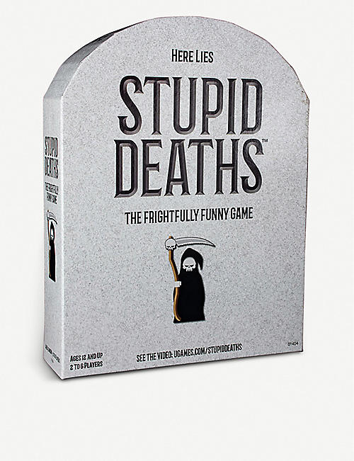 RED 5 Stupid Deaths board game