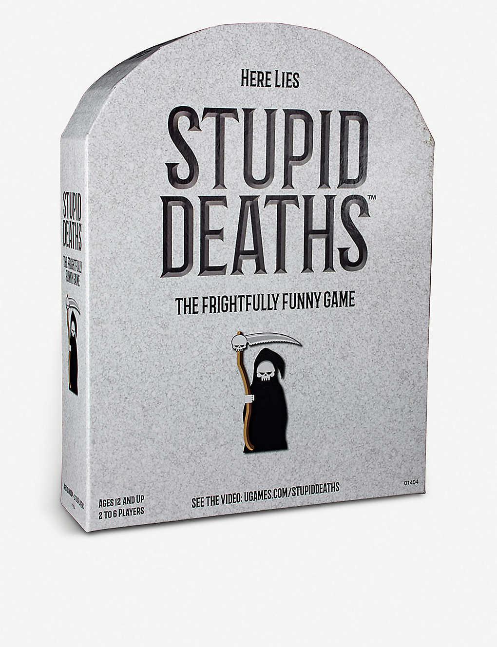 Stupid Deaths board game