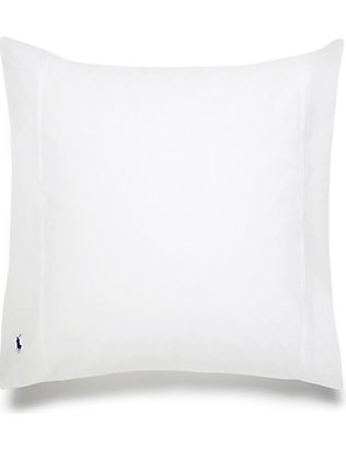 RALPH LAUREN HOME: Player square pillowcase