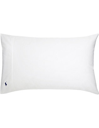 RALPH LAUREN HOME: Player king-size cotton pillowcase 50cm x 90cm