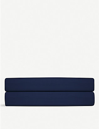 RALPH LAUREN HOME: Player cotton king flat sheet 265x275cm