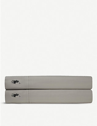 RALPH LAUREN HOME: Player flat sheet