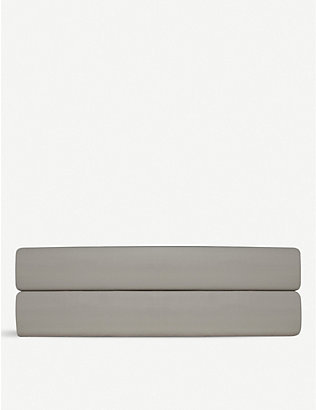 RALPH LAUREN HOME: Player cotton double flat sheet 220x260cm