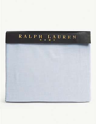 RALPH LAUREN HOME: Oxford fitted sheet