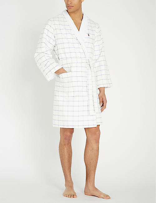 RALPH LAUREN HOME Cotton dressing gown
