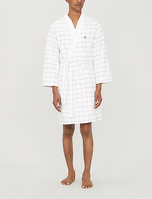 RALPH LAUREN HOME Baxter terry cotton bathrobe