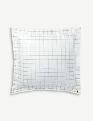 RALPH LAUREN HOME Baxter cotton oxford square pillowcase 65x65cm