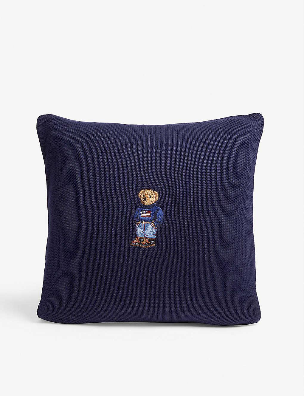 Polo Bear 7cm 45 Cover Cushion Cotton X 80kPOXwn