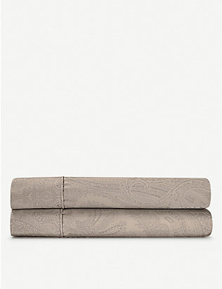 RALPH LAUREN HOME: Doncaster cotton flat sheet range