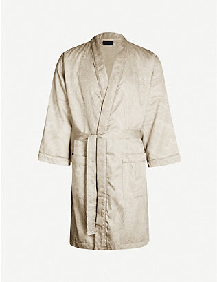 RALPH LAUREN HOME: Doncaster cotton bathrobe