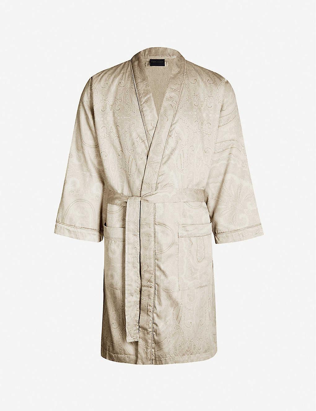 42d4fa816 RALPH LAUREN HOME - Doncaster cotton bathrobe