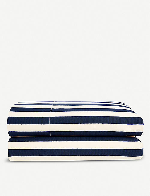 RALPH LAUREN HOME Durant cotton percale fitted sheet range