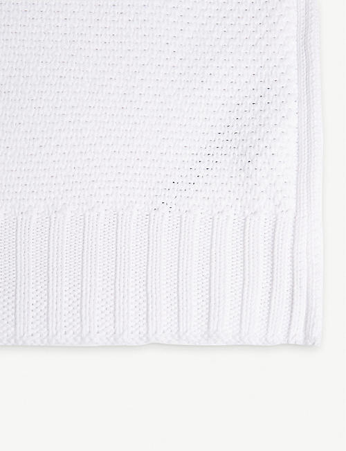RALPH LAUREN HOME Meadown Lane Ariel cotton blanket