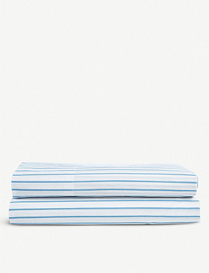 RALPH LAUREN HOME Meadow Lane cotton double flat sheet 240cm x 295cm
