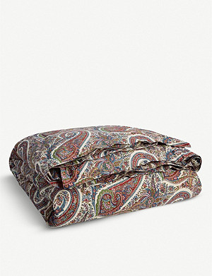 RALPH LAUREN HOME Norwich Road paisley-print cotton duvet cover