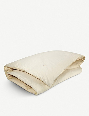 RALPH LAUREN HOME Oxford yarn dyed cotton duvet cover