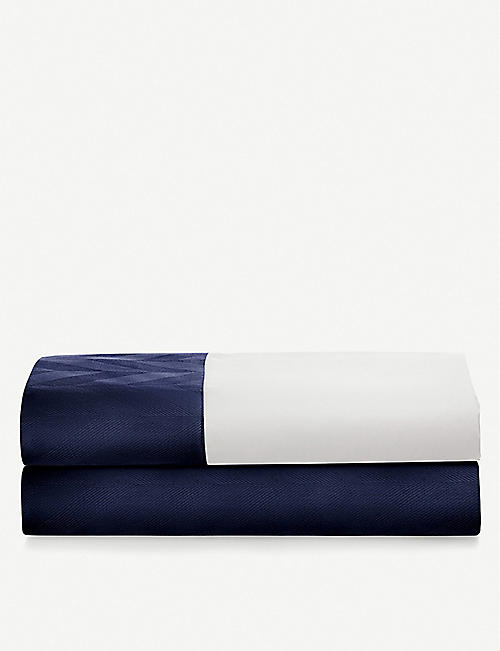RALPH LAUREN HOME Radnor jacquard cotton-sateen fitted sheet