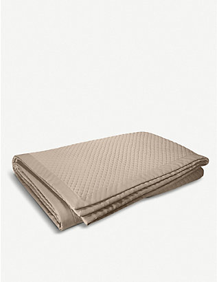 RALPH LAUREN HOME: Wyatt quilted cotton pillowcase 65x65cm