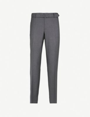 THE KOOPLES Fitted Super 100's wool trousers