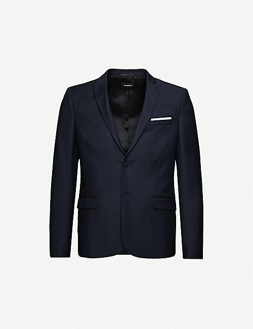 THE KOOPLES: Single-breasted fitted wool blazer