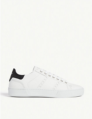 THE KOOPLES: Leather trainers