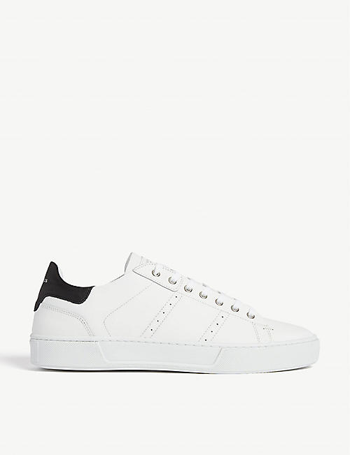 THE KOOPLES Leather trainers