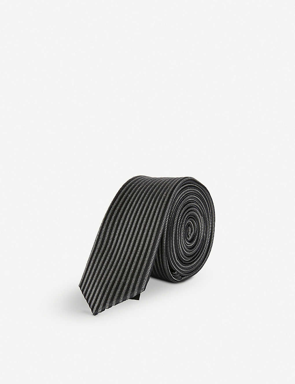 2e264d30340 THE KOOPLES - Skull jacquard silk tie | Selfridges.com