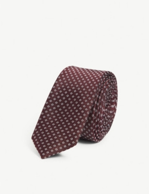 THE KOOPLES Block skinny silk tie