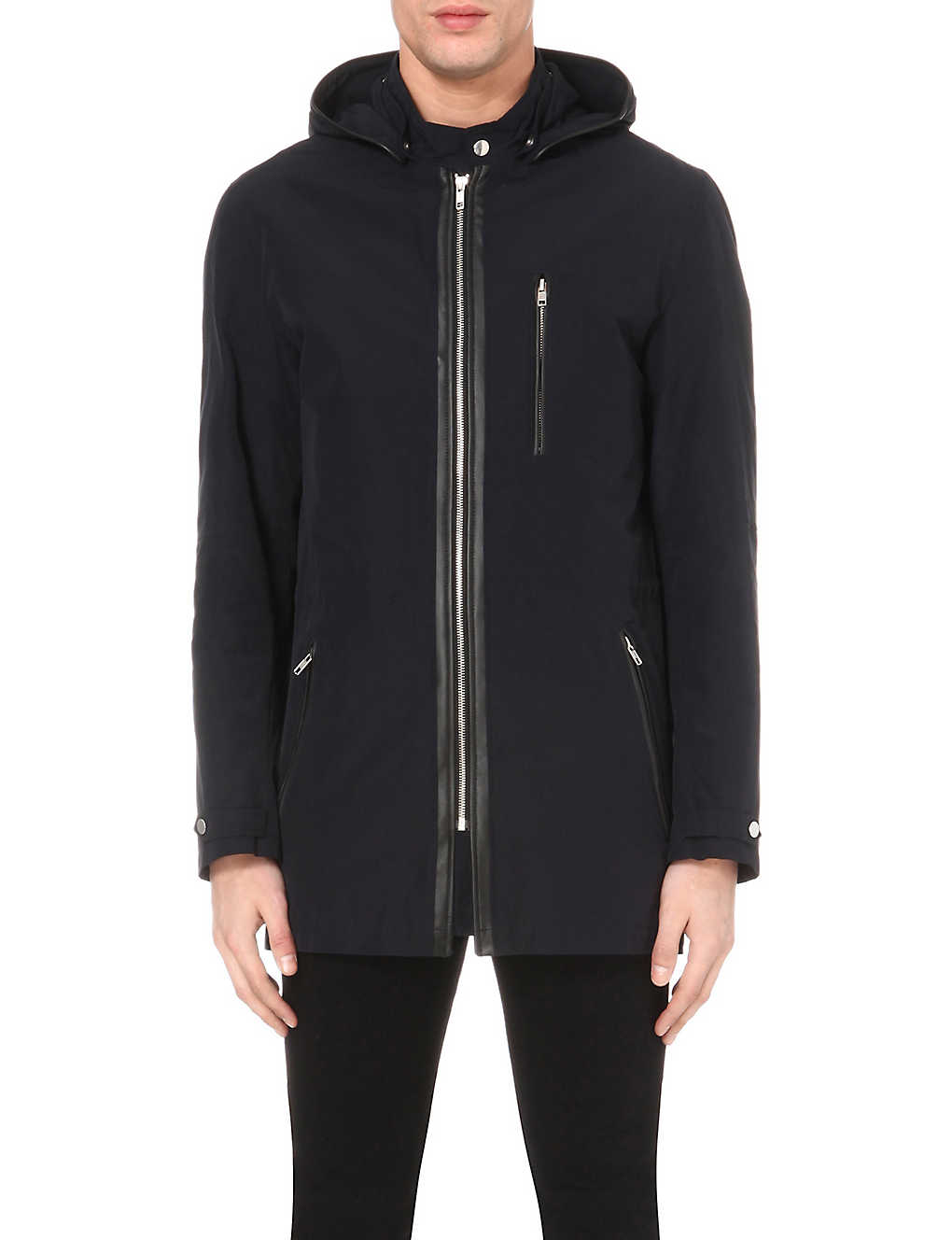 043262b5dc2 THE KOOPLES - Hooded cotton-blend jacket | Selfridges.com